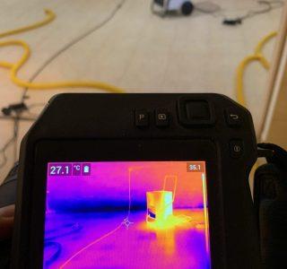 Osuszanie budynku okiem kamery termowizyjnej